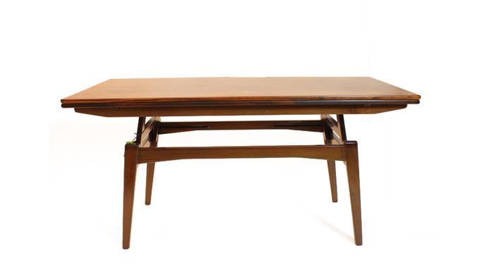 Mesa elevable en palosanto