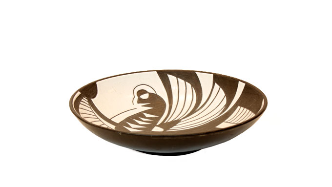 Plato cerámica Marianne Starck