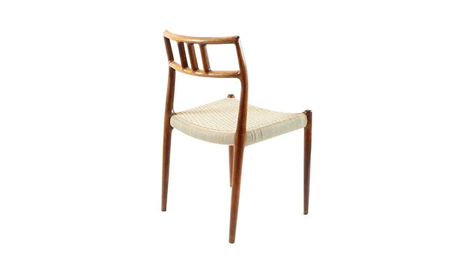 Set 4 sillas palosanto N.O. Moller