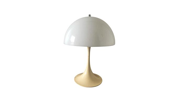 Pareja de lámparas de sobremesa Panthella Verner Panton