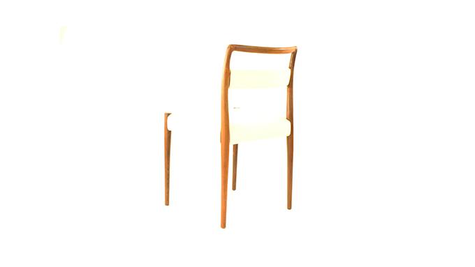Set 2 sillas en palosanto
