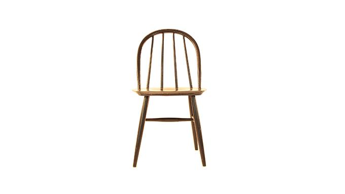 Set de 4 sillas de madera, Suecia