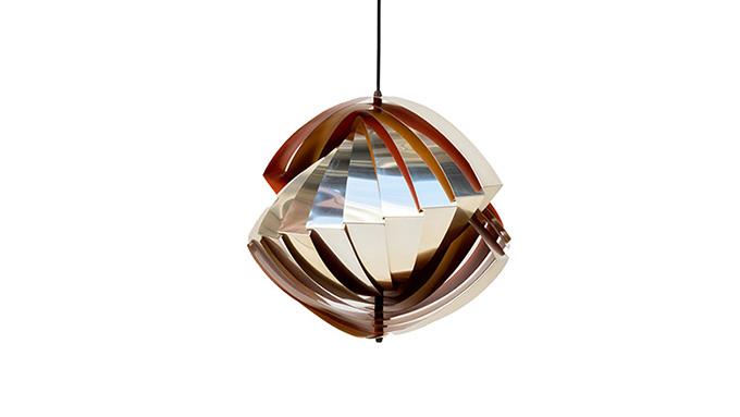 Lámpara colgante Konkylie de Louis Weisdorf para Lyfa