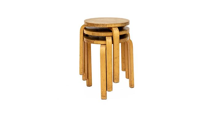 Taburetes Alvar Aalto