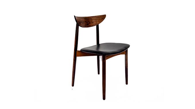 Set de o sillas en piel y palosanto