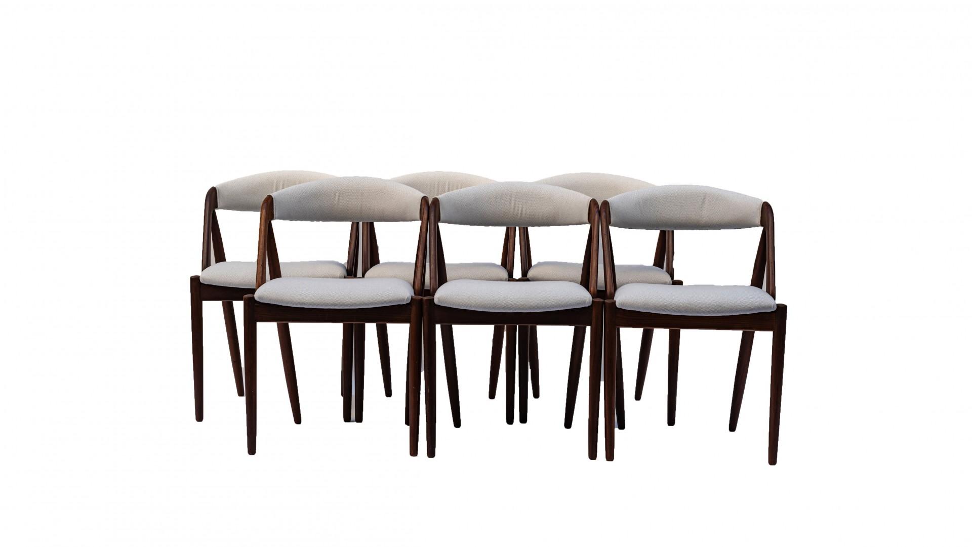 Set de sillas de comedor by Kai Kristiansen