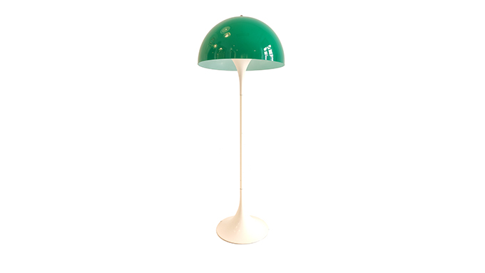 Lámpara Panthella de Verner Panton