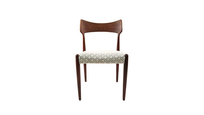 Pareja de sillas en palosanto Christian Linneberg
